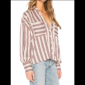 Free People Mad About You blouse  Size M